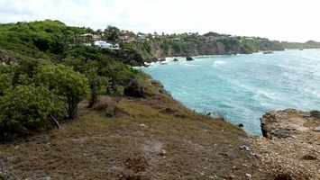 vue caravelle, ste anne, littoral, grande terre, Guadeloupe