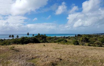 vue du morne bois jolan ste anne Guadeloupe