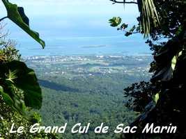 vue grand cul de sac, tete allègre, basse terre nord, Guadeloupe