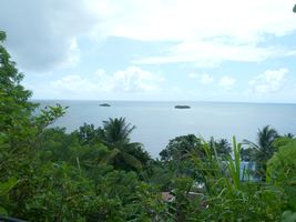 Vue sur les îlets, Pointe à Bacchus